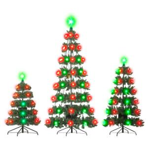 Outdoor Light And Sound Show Set With 3 Trees Better