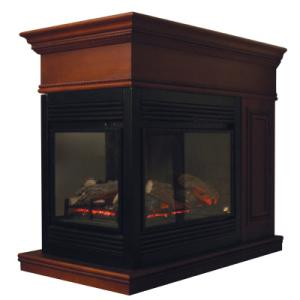 PROCOM 29 IN. CONVERTIBLE VENT-FREE PROPANE GAS FIREPLACE