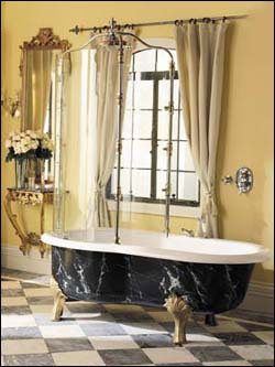 Calvari Rain Bath Tub Porcher