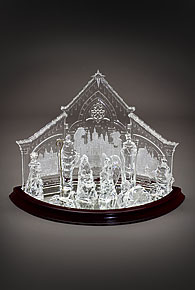 Christmas Crystal Nativity Set Better Home Improvement