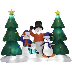 Inflatable Light and Sound Home Accents Holiday 11 Ft. Inflatable Light and Sound Show