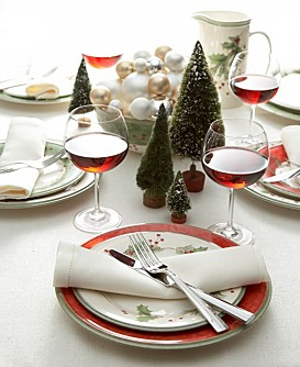 lenox dinnerware collection Lenox Holiday Gatherings Dinnerware Collection