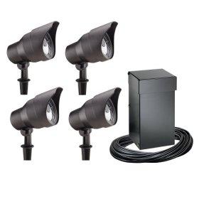 how to set malibu outdoor light timer