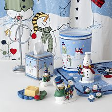 button snowman bath accessories betterimprovement