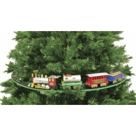 christmas tree train set - Train Set For Christmas Tree