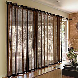 Kennedy Bamboo Grommet top Panels Betterimprovementcom