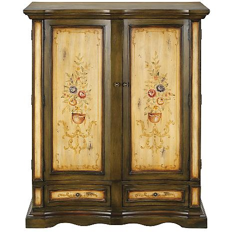 louvre tv armoire better home improvement. Black Bedroom Furniture Sets. Home Design Ideas