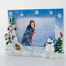 Snowball Fight Photo Frame