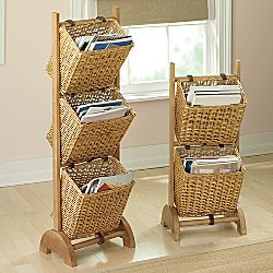 Tiered Hanging Storage Baskets