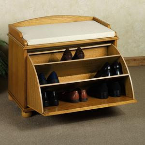 Aaron Shoe Storage Bench