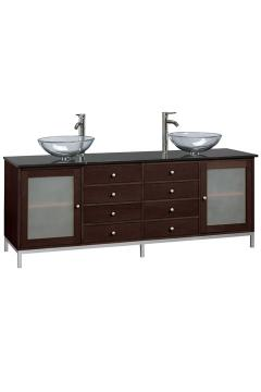 amanda double sink cabinet Amanda Double Sink Cabinet