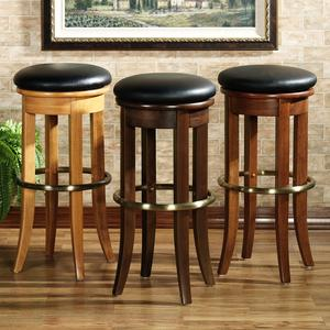 Backless Swivel Bar Stools 4 Finishes