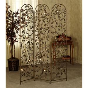 Bradbury Room Divider Screen With Votive Holders Better