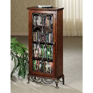 Caydena DVD u0026 CD Storage Cabinet  sc 1 st  Better improvement & Caydena DVD u0026 CD Storage Cabinet - Betterimprovement.com