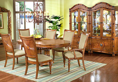 Cindy Crawford Home Coconut Grove Formal 5 Pc Diningroom