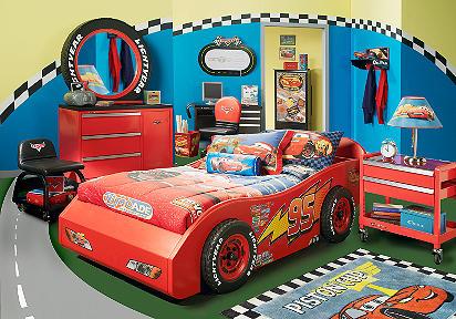 Disney Cars 4 Pc Bedroom