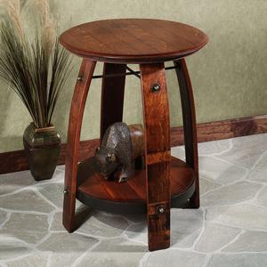 eldon wooden side table