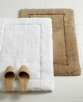 Hotel collection silk blended rug collection for Hotel collection bathroom rugs
