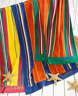 Lauren Ralph Lauren Sea Awning Stripe Beach Towels Better Home