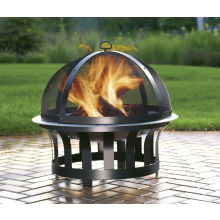 Delightful Living Accents Stainless Steel Fire Pit