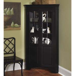 Cabinets Black Black Corner China Hutch Dining Rooms
