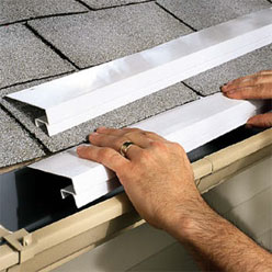 Protective Drip Edge For Gutters