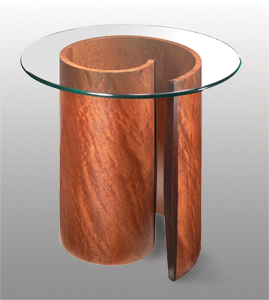 spiral end table Spiral End Table