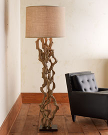 Floor lamps betterimprovement part 3 twisted vine floor lamp aloadofball Choice Image