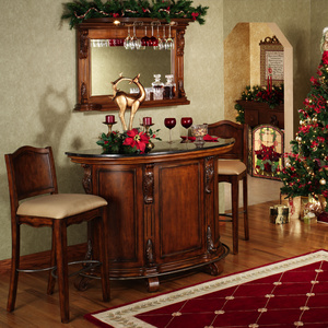 Attractive Yorktown Traditional Home Bar Furniture