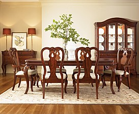 Bordeaux Louis Philippe Style Dining Room Furniture Collection