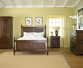 Lovely Chelsea Tobacco Bedroom Furniture Collection