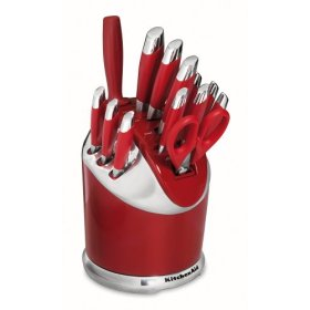 handle cutlery set Red Handle Cutlery Set
