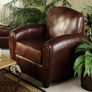 Peyton Leather Club Chair