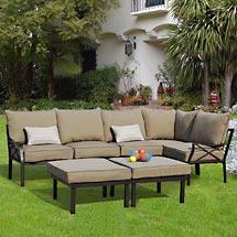 Sandhill outdoor sectional sofa set betterimprovementcom for Sandhill outdoor sectional sofa set