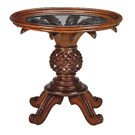 West Indies Pineapple Accent Table Better Home Improvement