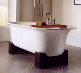 asia bathtub by victoria and albert cradled Asia Bathtub by Victoria and Albert