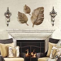 Leaf Wall Art banana leaf wall art - betterimprovement