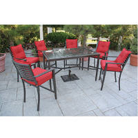 berkeley counter height outdoor dining set 8 pc