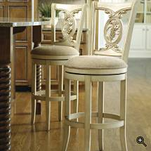 Carved Grapes Swivel Bar Stool Better Home Improvement