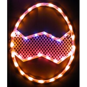 Easter egg eggs dyed holiday light lights window d r - Light up easter decorations ...