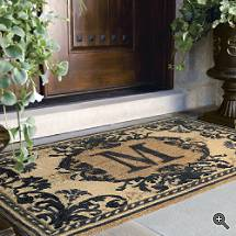 initial mats mat monogram doormat canada coir door inspirations large entryway wonderful front cute d personalized out in s home monogrammed
