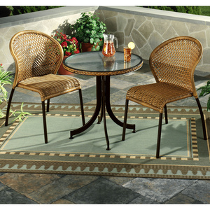 Lakeview 3 Piece Patio Bistro Table U0026 Chairs