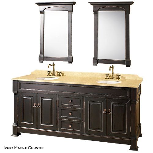 DOUBLE BATHROOM VANITY SET  Bathroom Design