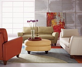 Charmant Almafi Leather Living Room Furniture Collection