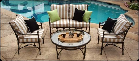 Aluminum Patio Furniture By Santorini Collection