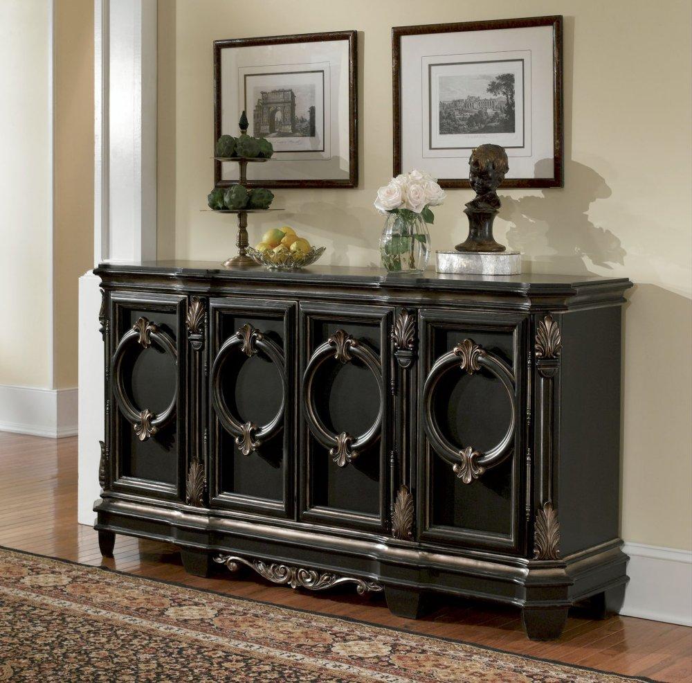 Rustic buffet table furniture - Ascot Buffet