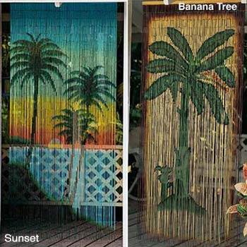 Nice Bamboo Door Curtain
