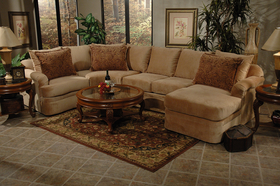 Comfortable Microfiber Sectional Sofa Chaise Lounger Set : couch with chaise on left side - Sectionals, Sofas & Couches