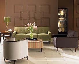Corona Upholstered Living Room Furniture Collection