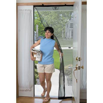 Drop down instant bug screens for Pull down fly screen for doors